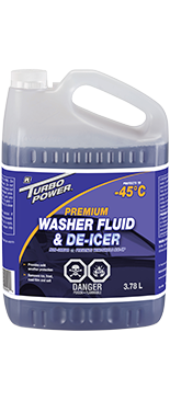 Premium Washer Fluid and De-icer -45°C