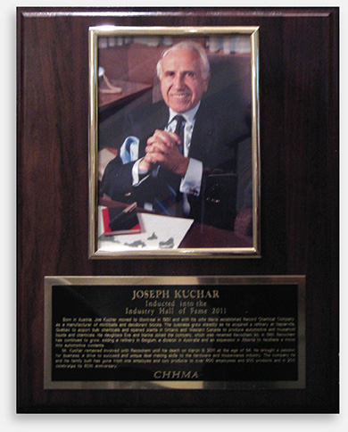 Recochem founder posthumously inducted into Industry Hall of Fame