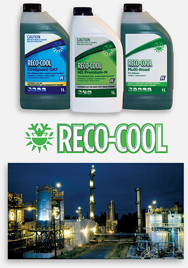 Recochem launches RECO-COOL brand in Australia / Asia