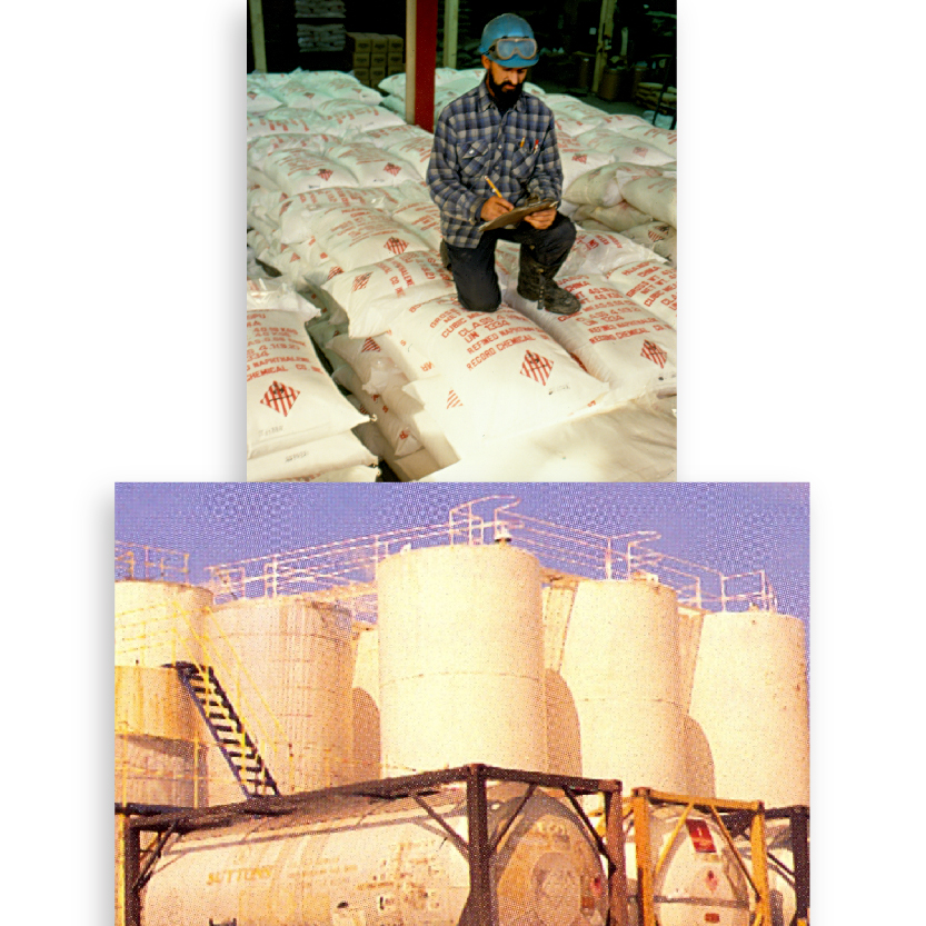 Napierville Refineries is acquired