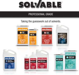 Got a DIY project? …Get Solvable! Recochem launches a new brand of Solvents in Canada